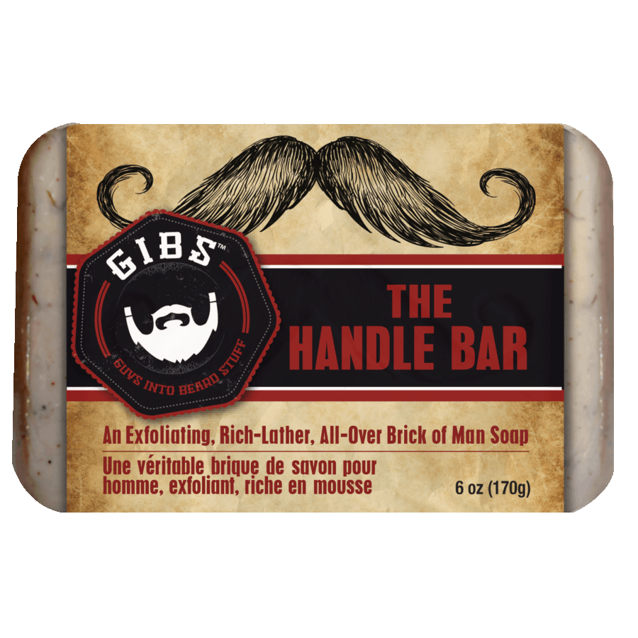 Handle Bar Exfoliating Soap by GIBS